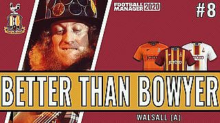 Better than Bowyer | Game 8 -  Walsall | Bradford City| Football Manager 2020 - YouTube