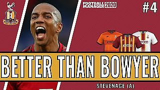 Better than Bowyer | Game 4 -  Stevenage | Bradford City| Football Manager 2020 - YouTube